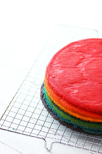 Rainbow Cake 12