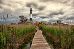 Path to Fire Island Lighthouse photo by Vinny Giordano