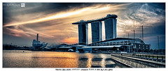 Marina Bay Sands 滨海湾金沙 (Singapore 新加坡) <HDR><Panorama> photo by SKHO 