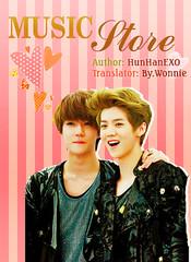 Music Store Poster photo by Tan biến. Hoá thành cơn gió.