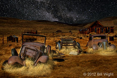Bodie Used Car Lot photo by Bill Wight CA