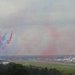 We watched the airshow up on the hill<br/>14 Jul 2012
