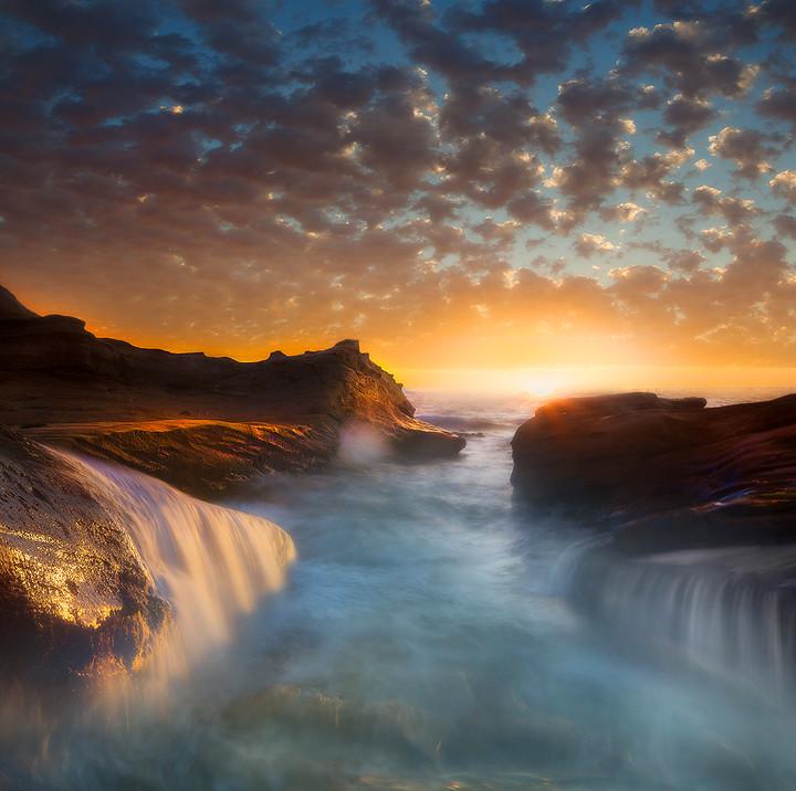 Cape Kiwanda Sunset - Oregon Coast photo by kevin mcneal