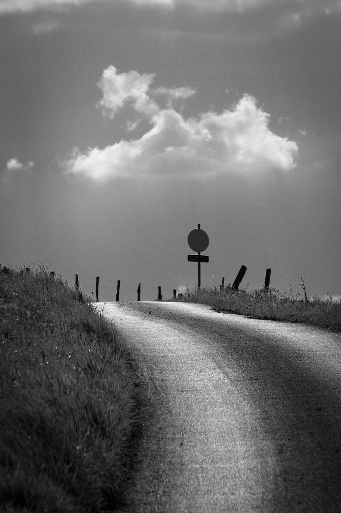 Up there on the hill photo by Jean-Louis Piraux