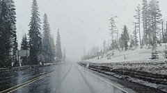Snow on Santiam Pass
