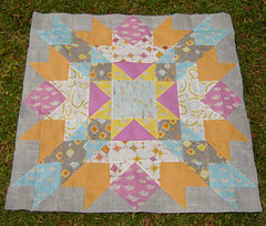 Macaroni Love Quilt Top photo by Marci Girl Designs