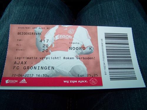6959634754 bf19586719 Ajax   FC Groningen 2 0, 22 april 2012