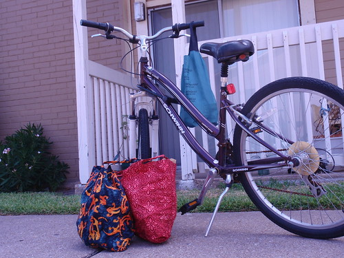Bike with Groceries