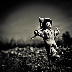 the scarecrow photo by thewhitestdogalive