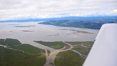 Columbia River from above
