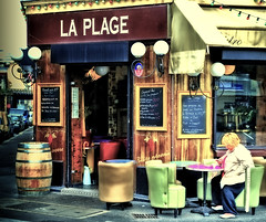 Paris plage... photo by Laurent photography