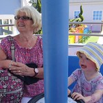 With Granny on the rides<br/>25 Jul 2012