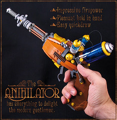 Anihilator in hand photo by captainsmog