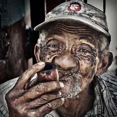 The man who smoked a pipe photo by alfonstr
