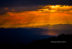 Sunset at the Santa Fe Ski Basin [Explored 9/30/2012] photo by dfikar