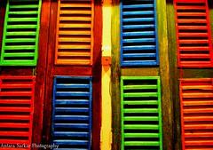 Rainbowed Windows! photo by A_Sarkar