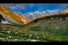 Rama Lake and Meadows Mountain View photo by High Blue