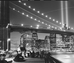 Tribute in Light, Fuji Neopan Acros 100 photo by Shawn Hoke