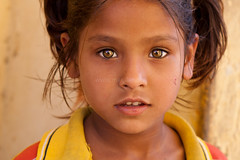 Hazel eyes, Jaipur photo by Marji Lang