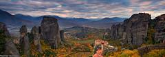 Meteora Panorama photo by Kostas Petrakis