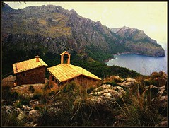 Mallorca ,Kleine Kapelle am Kap - 4 Tex, 1-55/1526 photo by roba66
