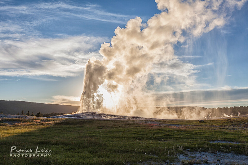 Old Faithful - Yellowstone National Park [Explored] photo by Patrick Leitz