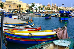 Marsaxlokk Bay, Malta - {Explored} photo by deji.fisher