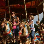 Enjoying the horses ride<br/>15 Sep 2012