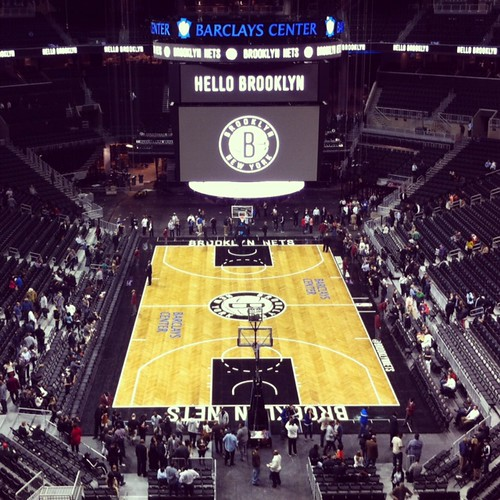 Brooklyn Nets season ticket holder open house! Yes!