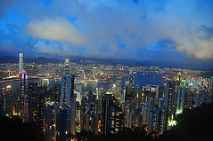 Hong Kong from Victoria Peak.   -  EXPLORE photo by Jehane*