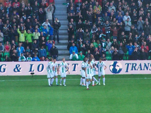 8063064059 3fa7eaaa71 FC Groningen   Feyenoord 2 2, 7 oktober 2012