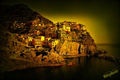 ~~ Manarola, Italy a perspective ~~ photo by stephgum32807