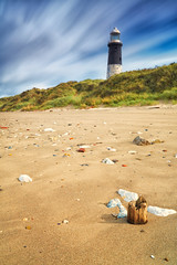 Spurn Point Lighthouse Long Exposure. photo by mark_mullen