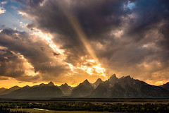 Power of Beauty ~ Grand Tetons ~ Photo ~ Nikon D800 ~ Mountains photo by Dan Ballard Photography