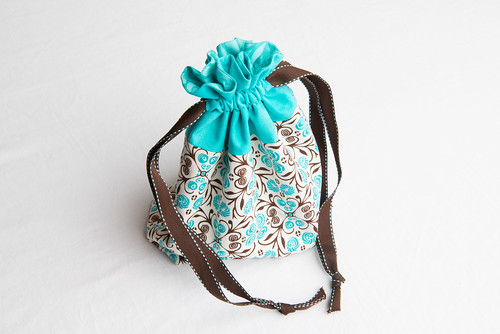 Lined Drawstring Bag Sewing Novice | Sewing Novice - A beginner's ...