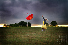 Red Umbrella photo by Suzanne Pyle Photography