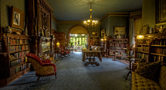 Mark Twain's Library photo by Frank C. Grace (Trig Photography)