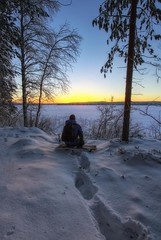 Sometimes you just have to sit for a while and enjoy the view photo by PSSX200(Jani Mölläri)