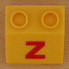 Educational Brick letter z