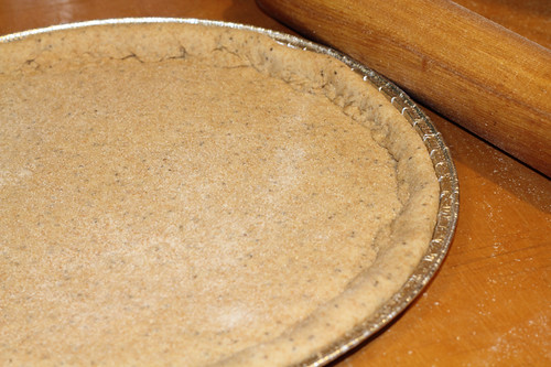 Whole Wheat Pizza crust fresh milled flour