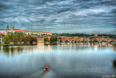 [Criss.AC] Prague Castle Vltava Karluv Most Prague photo by Criss.AC