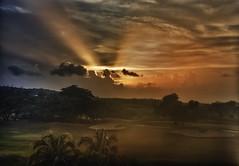 Jamaica near Montego Bay Sunset photo by Klaus Ficker