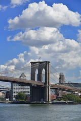Puente de Brooklyn desde Pier 17 - Brooklyn Bridge from Pier 17 photo by Davidcarreton