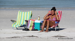 Tan Sexy Girl On Indian Rocks Beach Florida photo by rinehart-video-productions