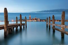 Venetian Blues | San Giorgio Maggiore photo by blame_the_monkey