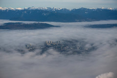 Vancouver in the fog 2 photo by Ballygrant Boy