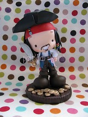 Jack Sparrow Fofinho para o aniversário do Raphael! photo by Patricia Tiyemi ^.^