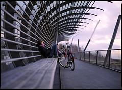 On The Bridge photo by Boris Brückhäuser