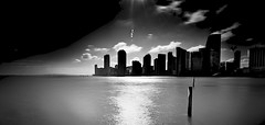 MIAMI UNDER PULSATING SUNLIGHT HOLDS THE SPIRIT OF THE CITY ~ EXPLORE photo by Terp's ~ R. Terpolilli