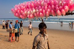 Cotton candy, Puri photo by Marji Lang Photography